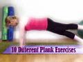 10 Different Plank Exercises