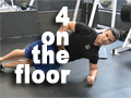 4 On the Floor - QUICK ABS WORKOUT
