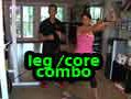 Leg and Core Combo // Time Saving Exercise
