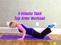 4-Minute Tank Top Arms Workout