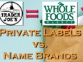 Private Labels vs Name Brands