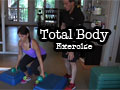 Total Body Exercise with Dumbbells or Kettlebells