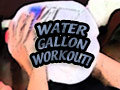 Water Gallon Workout