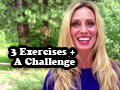 3 Equipment-Free Exercises + Join the Challenge!