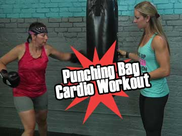 Punching Bag Cardio Workout
