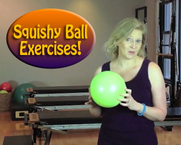 5 Exercises with a Squishy Ball