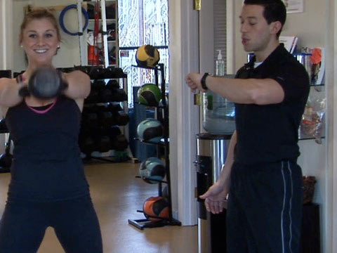 4-Minute Workout: Tabata Interval Kettlebell Swings