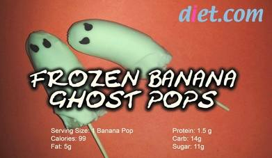 Recipe: Halloween Chocolate Boo-nana Ghost Pops