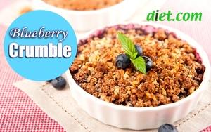 Quick & Easy Blueberry Crumble - Dietitian's Choice Recipe