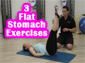 3 Flat Stomach Exercises