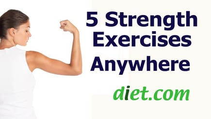 5 Strength Exercises Anywhere