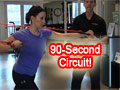 90-Second Circuit Training Workout