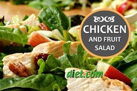 Chicken & Fruit Salad Recipe