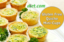 Gluten Free Quiche Mini Cups Recipe