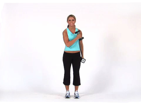 Cross Body Bicep Curl