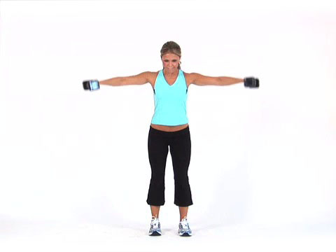 Deltoid Fly, Arm Exercise